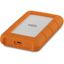 LaCie 4TB Rugged Mini USB 3.1 Type-C External Hard Drive