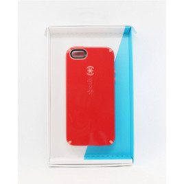 Speck iPhone 5/5s/5SE CandyShell Dark Poppy Red/Wild Salmon