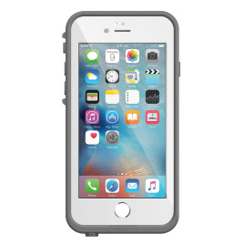 Lifeproof Fre - iPhone 6s Plus Avalanche - Bright White/Cool Gray