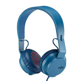 House of Marley The Roar On-Ear Headphones - Navy