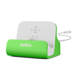 Belkin Charge and Sync Dock with Lightning Cable Connector - iPhone 5 / 5S / 5c and iPod touch 5th Gen (Green...
