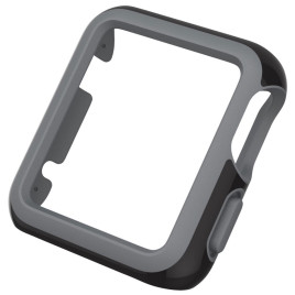 Speck CandyShell Fit for Apple Watch 38mm - Black/Slate Grey