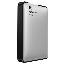 "WD My Passport For Mac 2.5"" USB 3.0 2TB Silver"