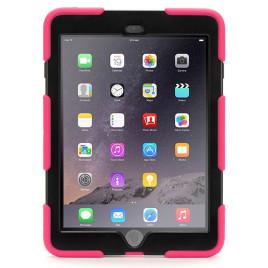 Griffin Survivor Case + Stand - iPad Air Pink/Black