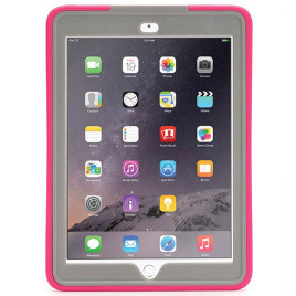 Griffin Survivor Slim - iPad Air 2 Pink/Gray