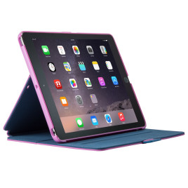 Speck StyleFolio - iPad Air 2 Beaming Orchid Purple/DeepSea Blue