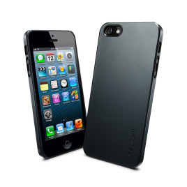 Spigen SGP Ultra Thin Air iPhone 5 Case - Metal Slate