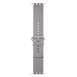 Apple Watch 38mm Woven Nylon Band - Pearl