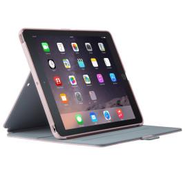 Speck StyleFolio - iPad Air 2 IINKED FreshFloral Pink/Nickel Grey