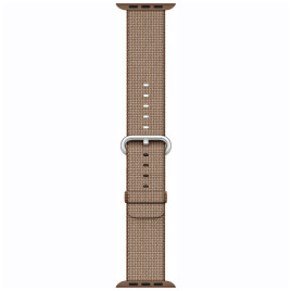 Apple Watch 42mm Woven Nylon Band - Toasted Coffee / Caramel