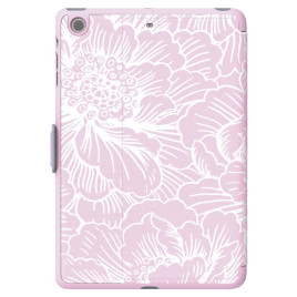 Speck iPad mini, 2 and 3 StyleFolio FreshFloral Pink/Nickel Grey