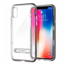 Spigen Apple iPhone X Crystal Hybrid - Gunmetal
