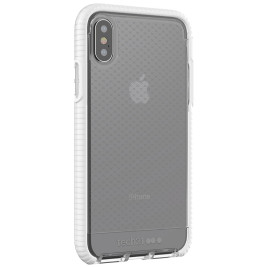 Tech21 Evo Check for iPhone X - Clear/White