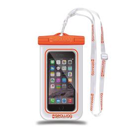 Seawag Waterproof Case - White/Orange