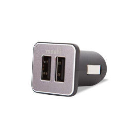 Moshi Revolt Duo Car Charger - Black