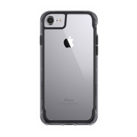 Griffin Survivor Clear Case for iPhone 6/6s/7 - Black/Smoke/Clear