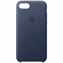 LA IPHONE 7 LEATHER CASE MIDNIGHT BLUE