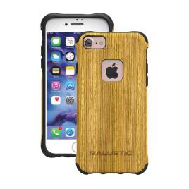 Ballistic Urbanite Select, Black Textured TPU with Honey Wood IMD, iPhone 7