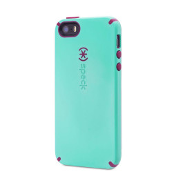 Speck CandyShell Case for iPhone 5/5s/5SE - Mykonos Blue/Cabernet Red