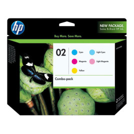 HP 02 Combo Pack