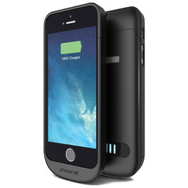 PhoneSuit Elite Battery Case for iPhone 5/5s/SE - Black