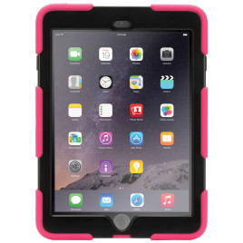 Griffin Survivor Extreme Duty Hardcase Pink / Black iPad Air 2