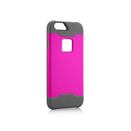 Tech Armor Active Sport Series Case for iPhone 6/6s - Pink/Light Gray