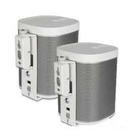 Flexson SONOS PLAY:1 Wall Mount - White (PAIR)
