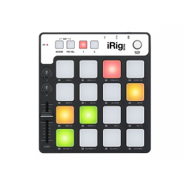 IK Multimedia iRig Pads pad-style MIDI controller - hip-hop and electronic