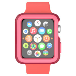Speck, CandyShell Fit - Apple Watch 42mm Crimson Red/Splash Pin