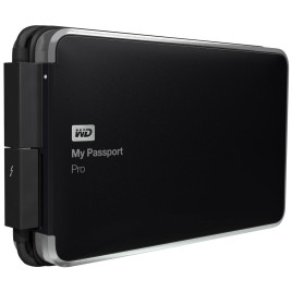 "WD My Passport PRO 2.5"" 2TB Thunderbolt Black"