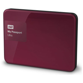 "WD, My Passport 2.5"" 2TB USB 3.0 - Wild Berry"