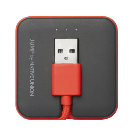 Native Union Jump 1.6' USB to Lightning Cable - Coral