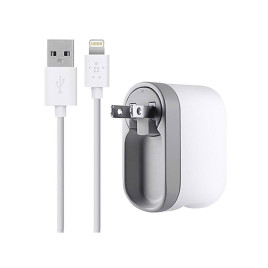Belkin Swivel Charger + Lightning White