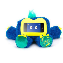 Griffin Woogie Zee Plush Kid Case - iPhone and iPod touch -  Blue