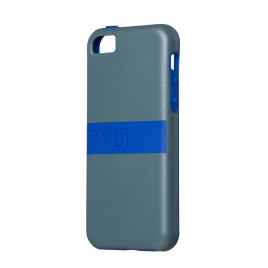 Tylt Band Case for Apple iPhone 5C - Grey/Blue
