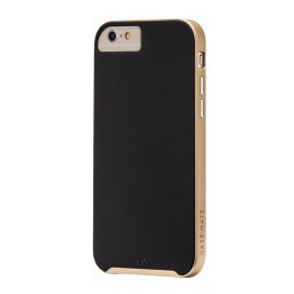 "Case-Mate Tough Case - To Suit iPhone 6 4.7"" - Black/Gold"
