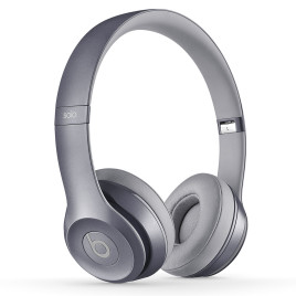 Beats Solo 2.0 On-Ear Headphones (Stone Grey)