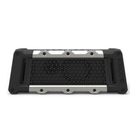 Fugoo Tough Bluetooth Wireless Speaker 120/240v Black/Silver