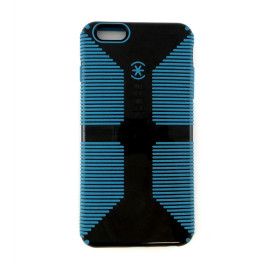 Speck CandyShell Grip - iPhone 6/6s Plus - Black/Jay Blue