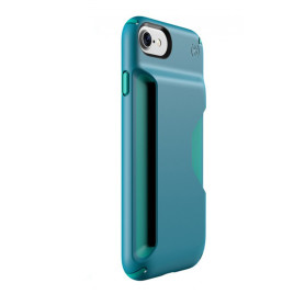 Speck Presidio Wallet - iPhone 7 - Mineral Teal/Jewel Teal