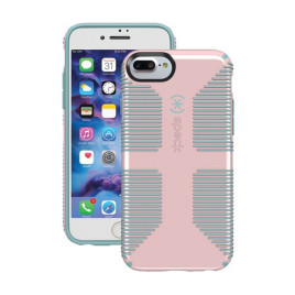 Speck CandyShell Grip Case for iPhone 6/6s/7 Plus - Quartz Pink/River Blue