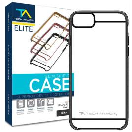 Tech Armor Elite SlimShield Case for iPhone 7 Plus - Black/Clear