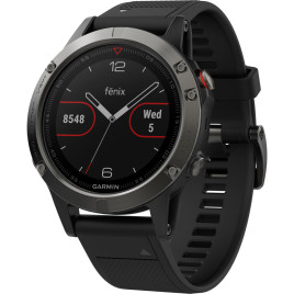 Garmin fenix 5 Watch -Slate Gray/ Black Band