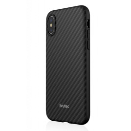 Evutec Karbon Case w/Vent Mount for iPhone X - Black
