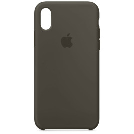 Apple iPhone X Silicone Case - Dark Olive