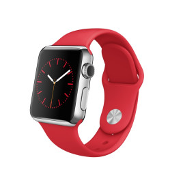 Apple Watch Smartwatch 38mm Stainless Steel PRODUCT RED Sport Band