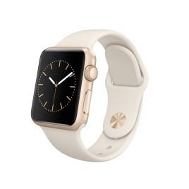 Apple Watch Sport 38mm Gold Case Antique White - Sport Band