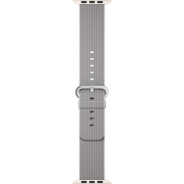 Apple Watch 42mm Woven Nylon Band - Pearl