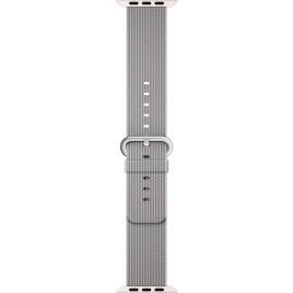 Apple Watch 42mm Woven Nylon Band - Pearl